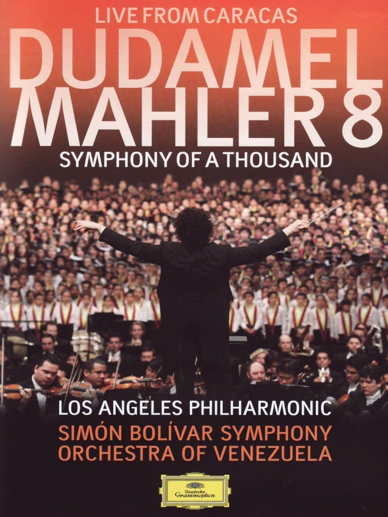 Mahler No 8 conducted by Gustavo Dudamel in Caracas featuring Julianna Di Giacomo