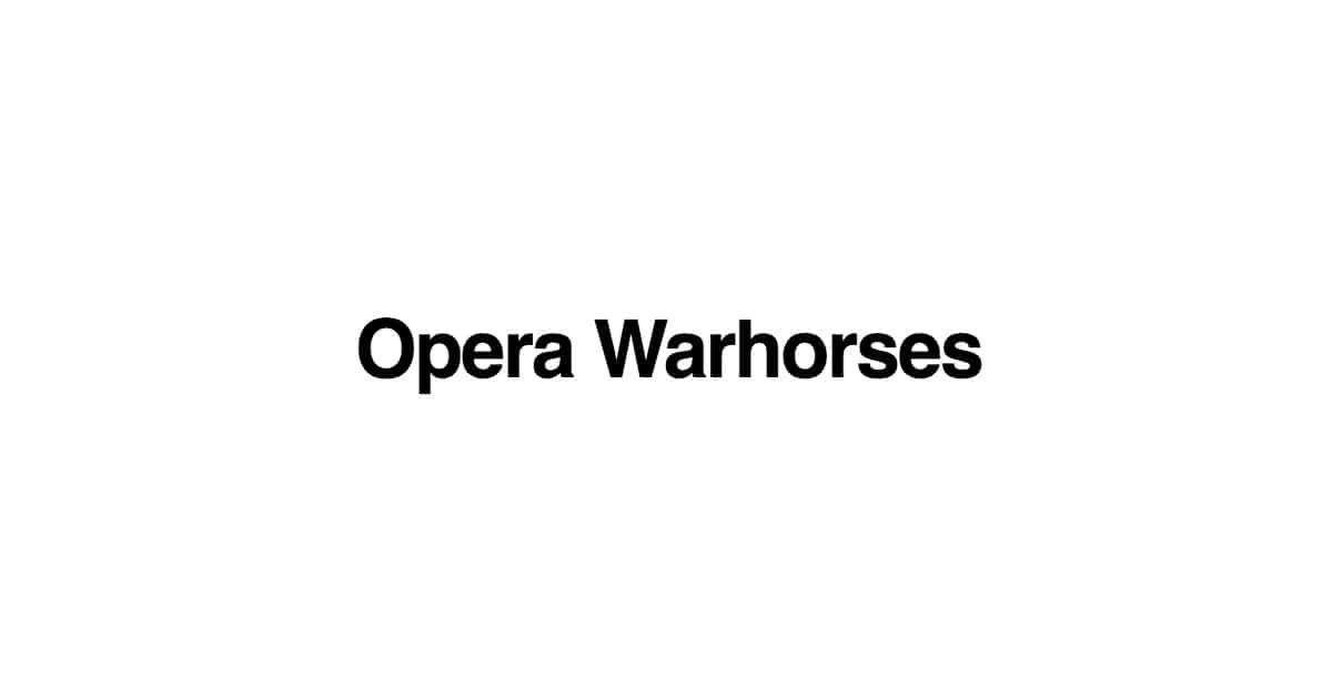 Opera Warhorses logo