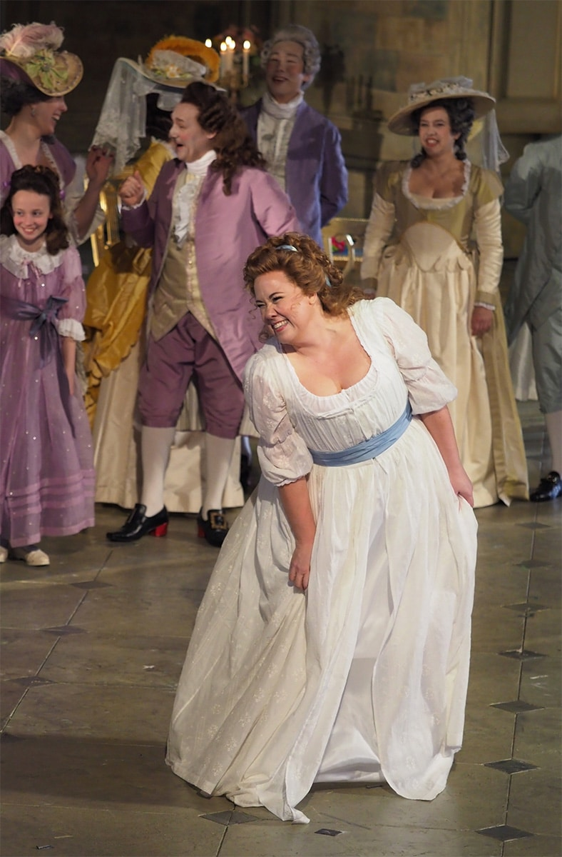 Julianna in the role of Amelia in Un Ballo in Maschera by Verdi performed in San Francisco, California